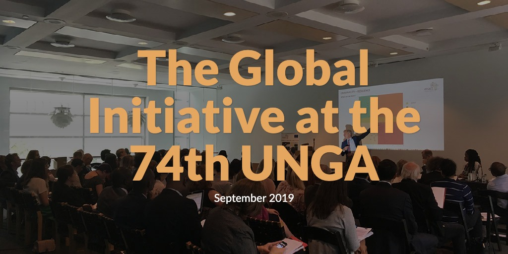 The Global Initiative at the 74th UNGA